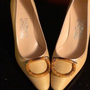 Salvatore Ferragamo women's shoes-Never Been Worn